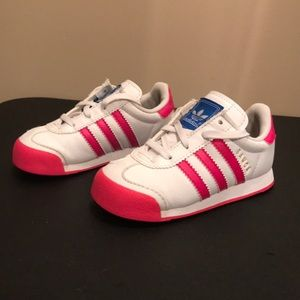Little girl's size 8 Adidas shoes